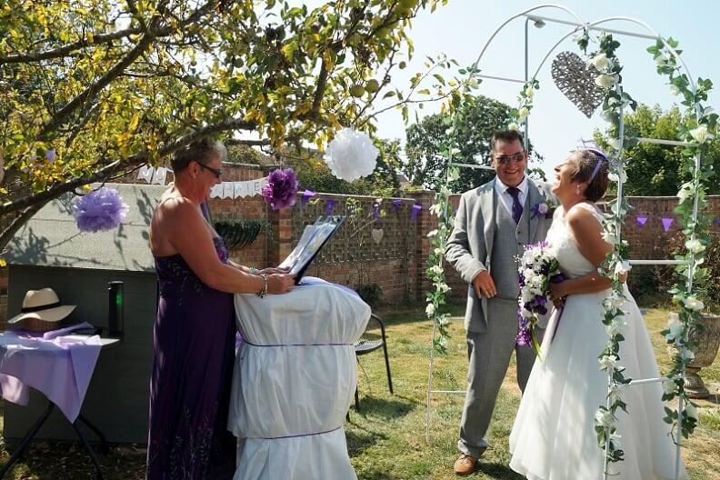judi greg wedding 2